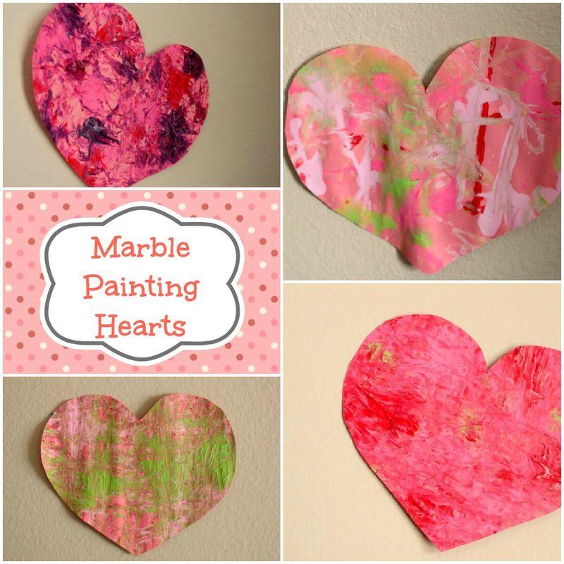 Valentines Heart Collage